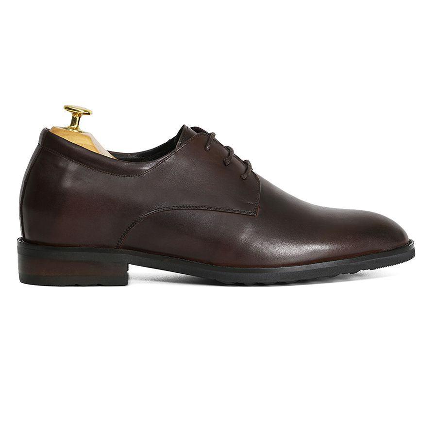 Giày tăng chiều cao nam Plain Toe Derby GCLA0126-N