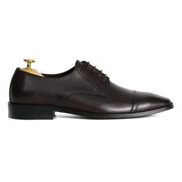 Giày tây buộc dây màu nâu GNLA21021-N