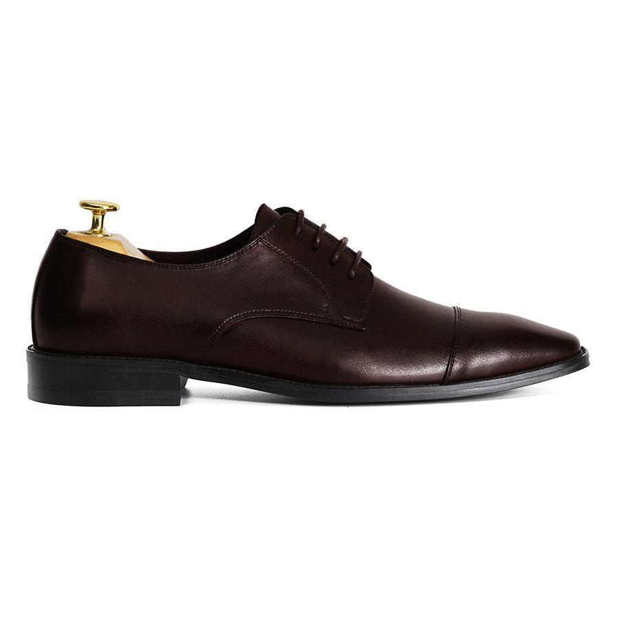 Giày tây buộc dây Cap Toe Derby GNLA21021-N