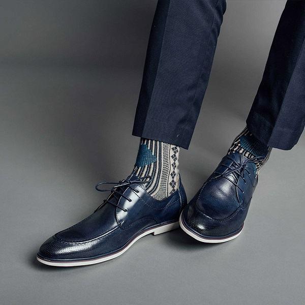 giày tây nam đục lỗ GNLAJX1596-12-X