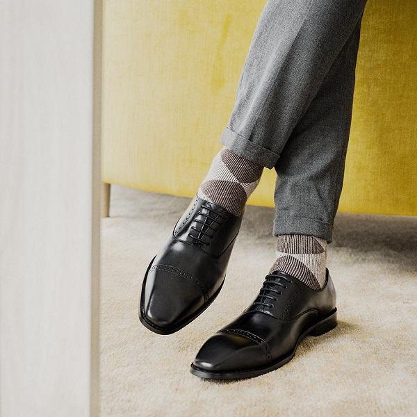 giày tây nam oxford brogue