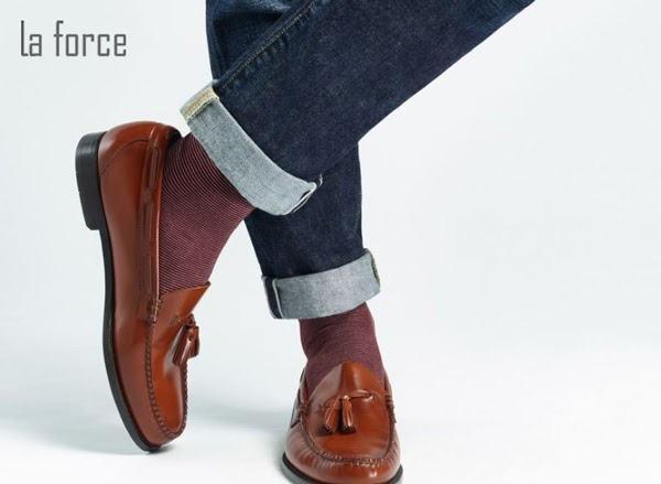 phối đồ với giày loafer