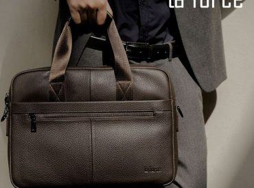 Top 5 loại cặp túi da nam cầm tay sang, xịn, giá mềm nhất tại Laforce