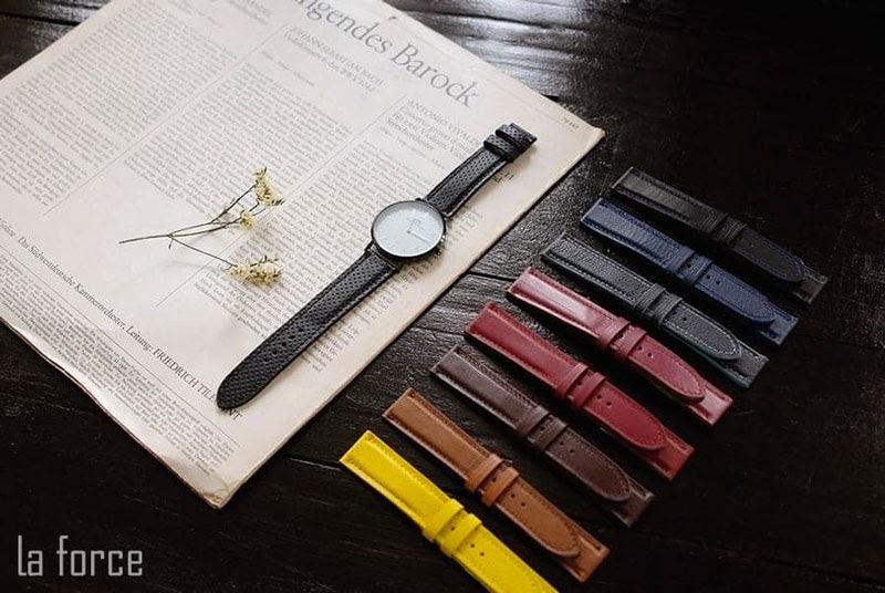 mua dây da đồng hồ ở đâu