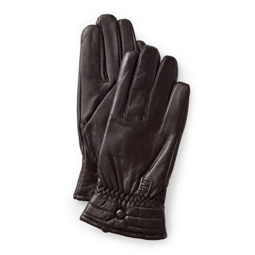 Găng tay da cừu nữ cảm ứng GTLACUNU-06-N