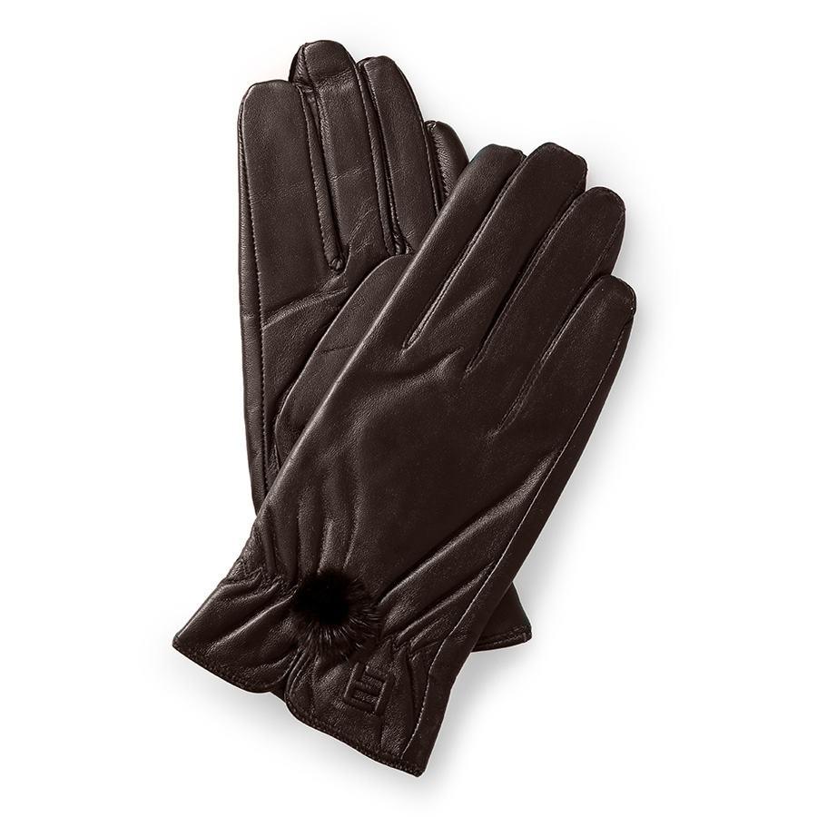 Găng tay da nữ cảm ứng GTLACUNU-04-N