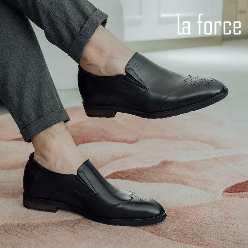 giày lười đế cao