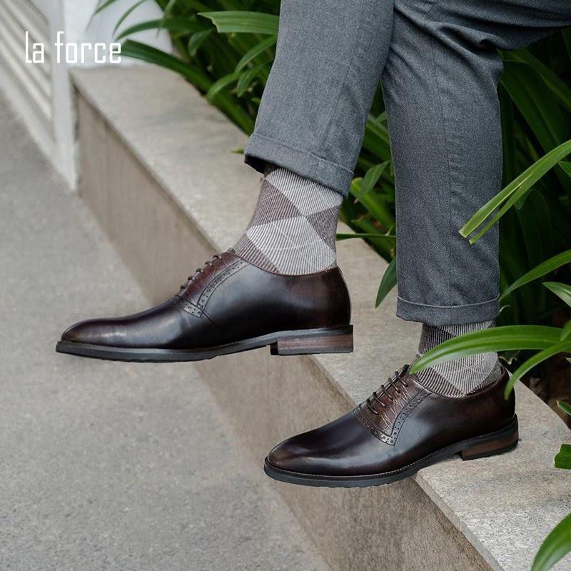cách buộc dây giày tây giấu dây
