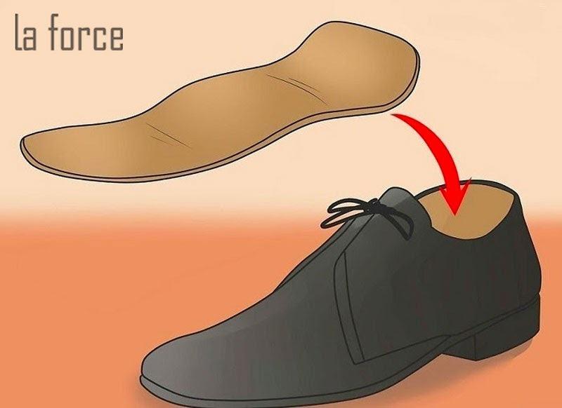 cách khắc phục giày rộng