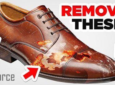 Giày da bị xước phải làm sao? Chi tiết 5 cách xử lý giày da bị trầy xước hiệu quả!