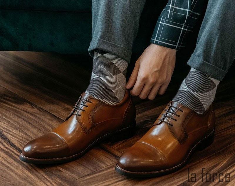 giày tăng chiều cao nam GCLAVA220-A32-V