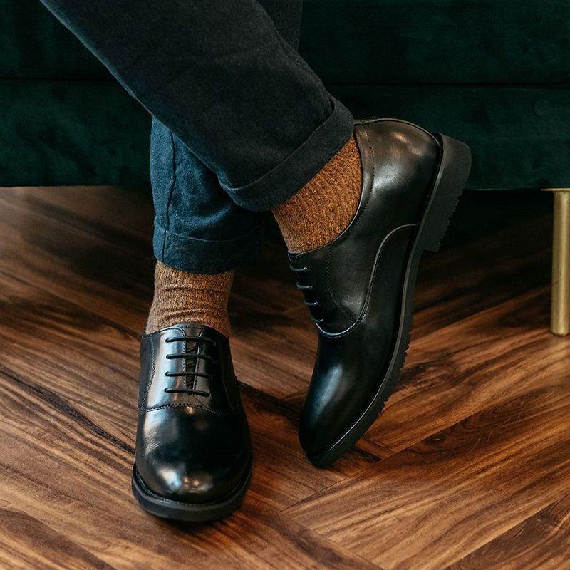 giày tây đế cao namGCLAS997-8-D