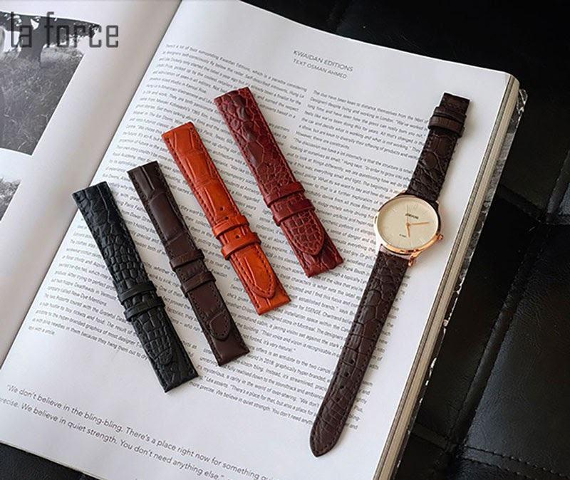 cách làm mềm dây da đồng hồ mới