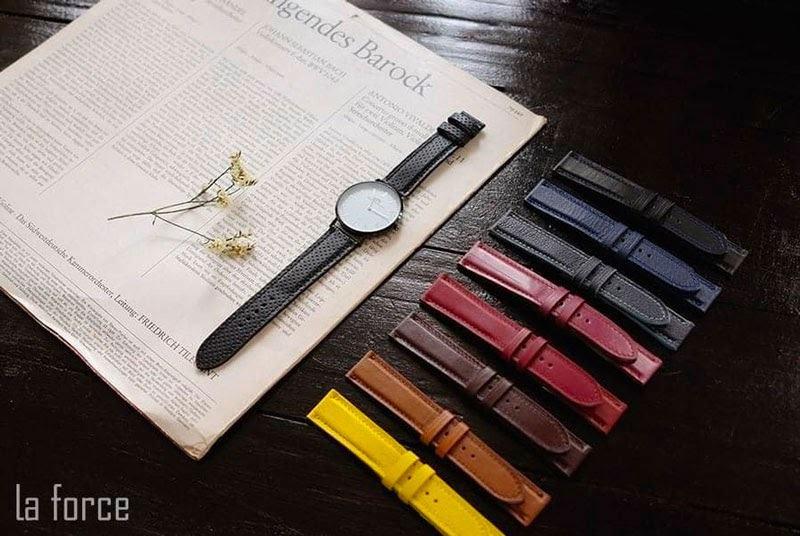 cách làm mềm dây da đồng hồ