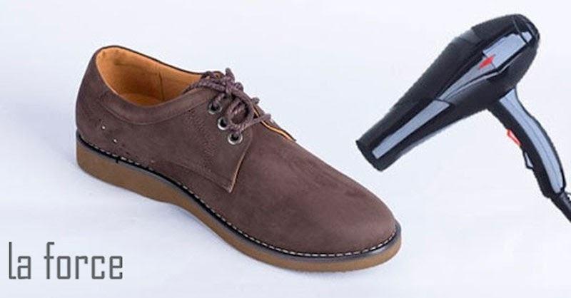 cách làm mềm giày mới