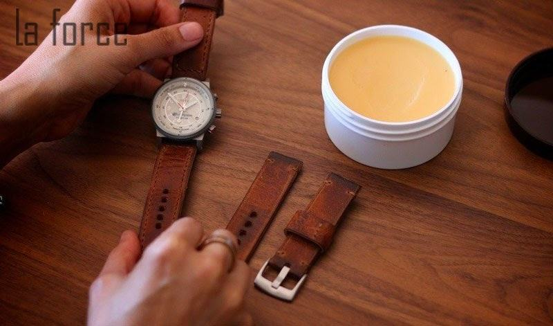 làm mềm dây da đồng hồ nhanh