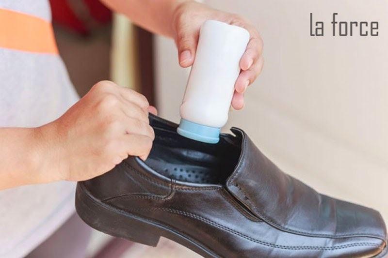 cách trị hôi chân khi mang giày