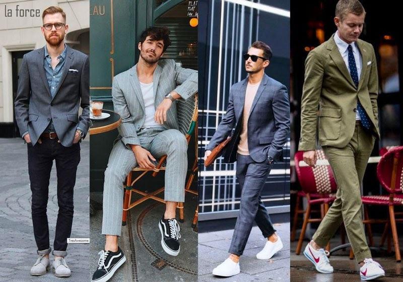 chọn giày mặc vest