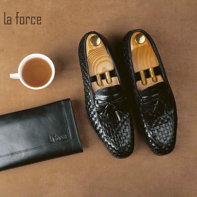 giày da nam tassel loafer