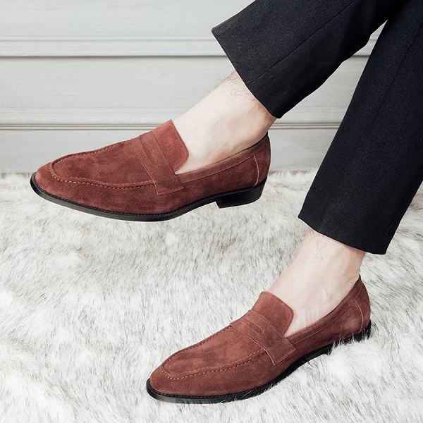 giày nâu nam