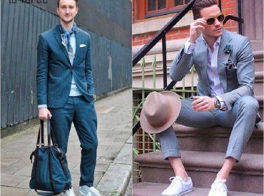 Mặc vest đi giày thể thao làm sao để hợp thời trang nhất?
