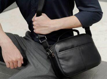 Gợi ý các cách đeo túi chéo nam đẹp, tinh tế