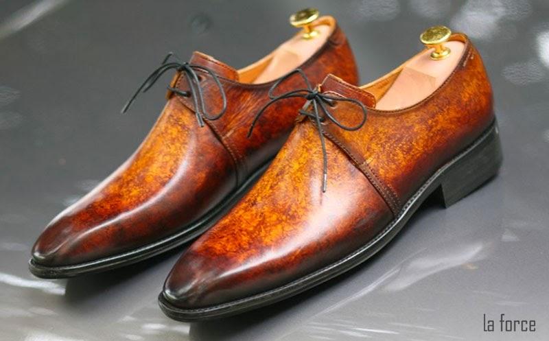 cách vệ sinh giày patina