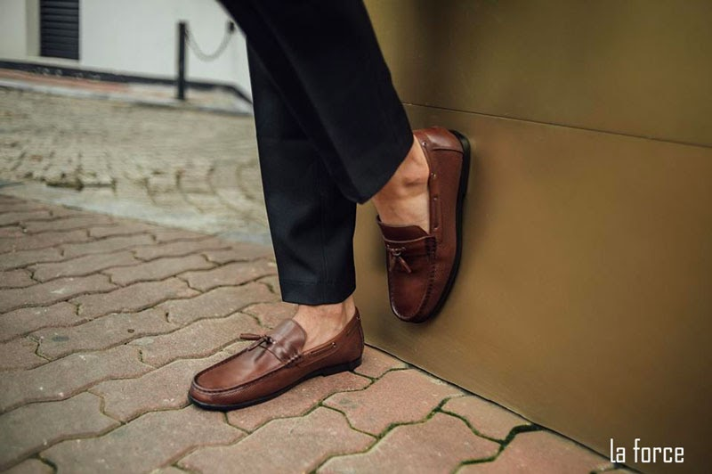 giày loafer laforce