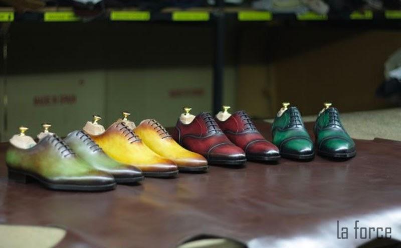 mẫu giày patina