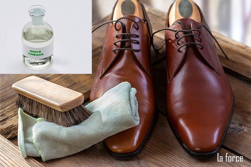 xử lý giày da bị tróc