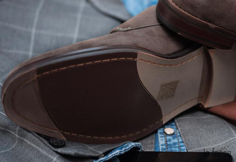 các loại đế giày nam giới