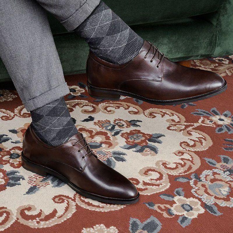 chọn giày tăng chiều cao nam