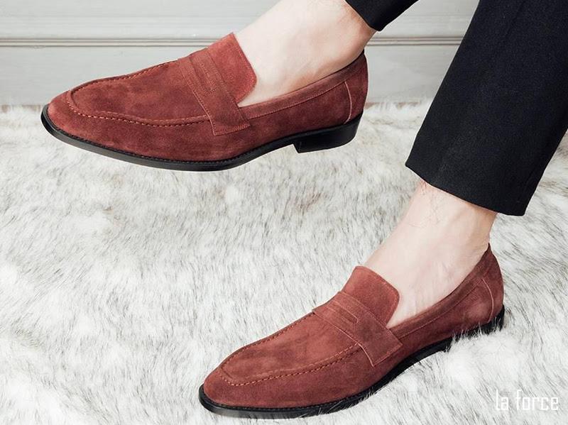 giày da lộn