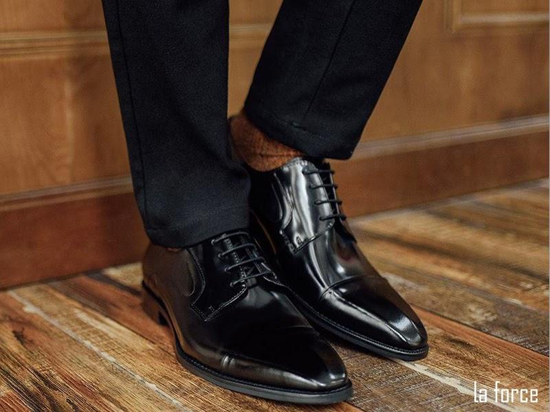giày nam cap toe derby