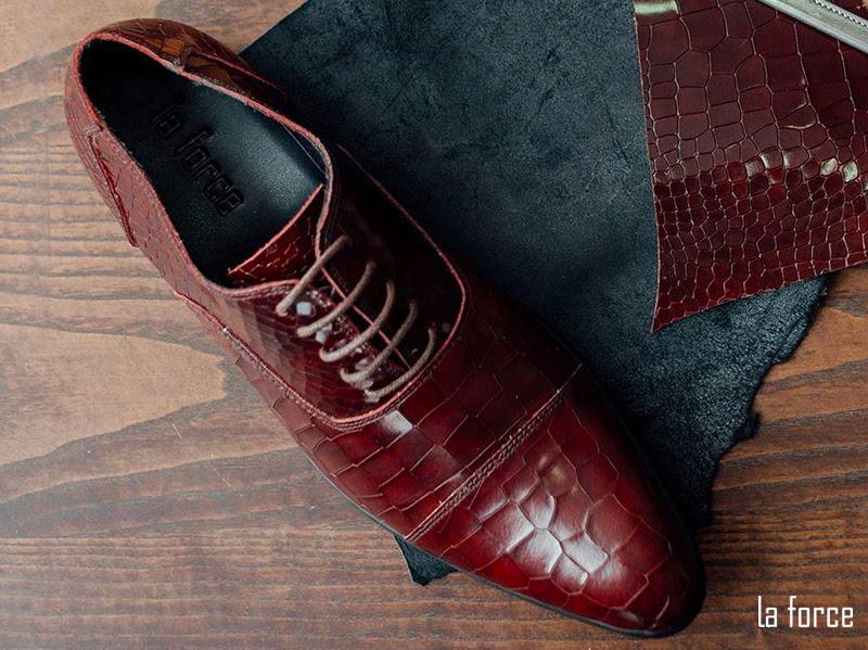 giày vân da rắn