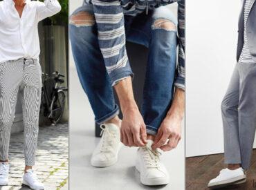 Phối đồ với giày trắng nam cần lưu ý gì? Gợi ý cách phối đồ với giày trắng