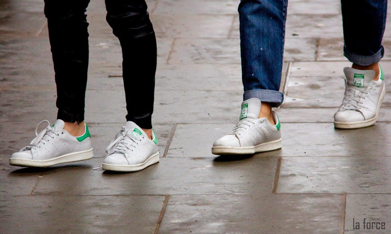 lưu ý khi kết hợp giày trắng