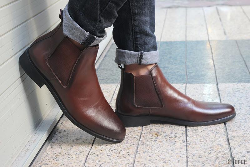 giày chelsea boots phối đồ