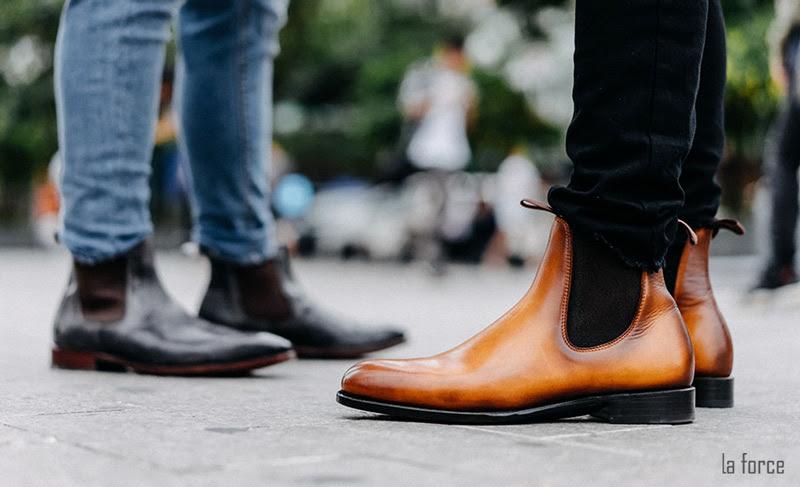 mix đồ với giày chelsea boots